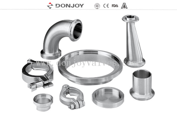 I LINE clampe Stainless Steel Sanitary Fittings I LINE union I LINE elbow tube