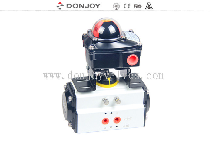 Air / Eeletric Operation Horizontal Type Actuator Intelligent Valve Positioner Control Head